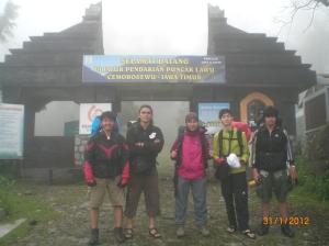 Pendakian Februari 2012